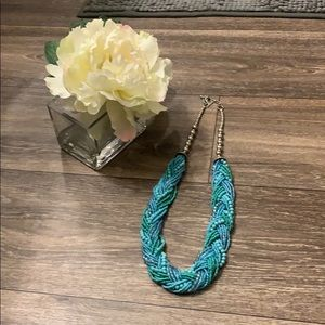 💕3 for $20💕 Statement Necklace Shades of Blue
